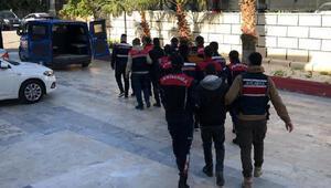 Mersin'de torbacı operasyonu: 33 gözaltı