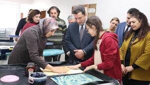 Öğrenciler geleneksel el sanatlarını öğrendi