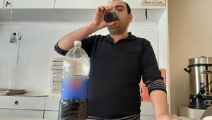 Bağımlısı oldu 15 yıldır günde 5 litre kola içiyor