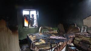 4 yaşındaki Hilal evlerinde çıkan yangında öldü