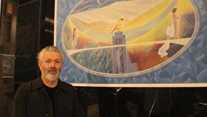 Ressam Musa Aktaşın 30. yıl resim sergisi sanatseverlerle buluştu