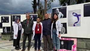 Ayvalıkta kansere karşı farkındalık sergisi