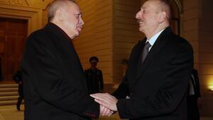 Cumhurbaşkanı Erdoğan Azerbaycandan ayrıldı