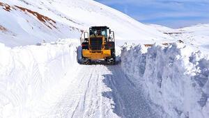 Erzincanda 27 köy yolu ulaşıma kapandı