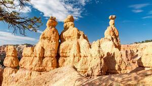 ABDnin peribacalı milli parkı Bryce Kanyonu