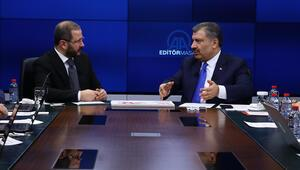 Son dakika haberler... Sağlık Bakanı Fahrettin Koca duyurdu: Corona virüs en az 6-9 ay...