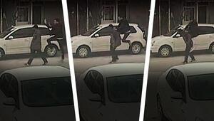 Hırsızı uçarak yakaladı