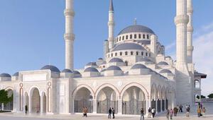20 bin kişilik Levent Camisinin inşaatına başlandı
