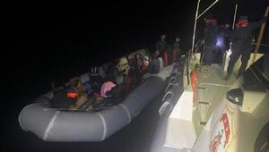 Kuşadasında 34 kaçak göçmen yakalandı