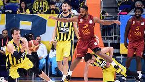 Son Dakika | Galatasaray, Fenerbahçeyi basketbol derbisinde de mağlup etti, seriyi sonlandırdı