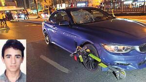 Beşiktaşta otomobilin çarptığı elektrikli scooter sürücüsü öldü