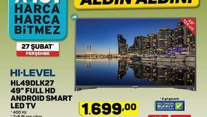A101 27 Şubat 2020 katalog ürünleri arasında telefon televizyon dikkat çekiyor A101 aktüel ürünler