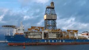 Üçüncü sondaj gemisinin Türkiyeye 17 Martta varması bekleniyor