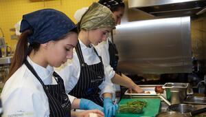 Liseli aşçılar yarıştı