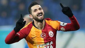 Galatasarayda Belhanda yerine Emre Akbaba sahada
