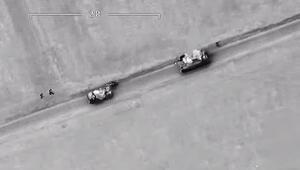 Son dakika... İdlibde rejim hedefleri böyle vuruldu