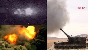 Son dakika haberler... İdlibde rejim hedefleri havadan ve karadan vuruluyor Yeni görüntüler geldi