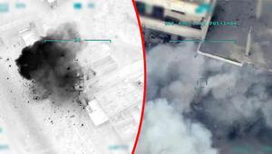 Son dakika haberleri: Türk Silahlı Kuvvetleri, rejimin kimyasal harp tesisini böyle vurdu