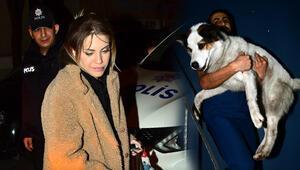 Eda Ecenin yardımına polisler yetişti