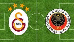 Galatasaray, Gençlerbirliğine İstanbulda 32-7 üstün