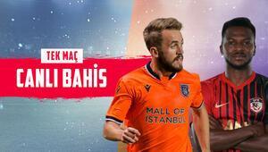 Avrupa fatihi Başakşehir, Gaziantep FK karşısında İddaa oynayanların %69u...