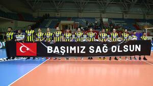 Fenerbahçe HDI Sigorta 3-0 İstanbul Büyükşehir Belediyespor