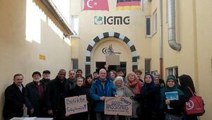 Brühl'de nöbet, Obenburg'da yürüyüş
