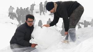Tonlarca karı toplayıp götürdüler... Nedeni ise...