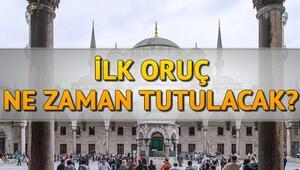 Ramazan Bayramı ne zaman Oruç ne zaman tutulacak