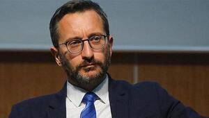 İletişim Başkanı Fahrettin Altundan şehitler tepesi açıklaması