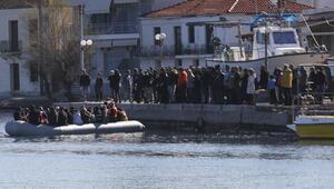 Midillide göçmenleri böyle engellediler: Sizi burada istemiyoruz defolun gidin