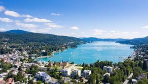 Avusturyanın Akdeniz iklimine sahip gölü: Wörthersee