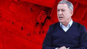 Son dakika haberler... Bakan Akar: 2557 rejim unsuru etkisiz hale getirildi