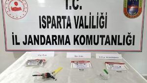 Ispartada uyuşturucu operasyonu