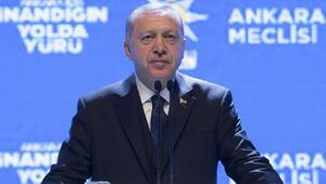 Cumhurbaşkanı Erdoğan: Belirlediğimiz sınırın dışına çıkmazlarsa omuzlarının üstündeki o başlar da kalmayacak