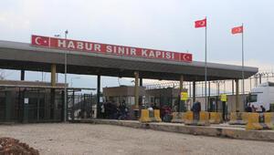 Habur Sınır Kapısında sahra hastanesi kuruldu