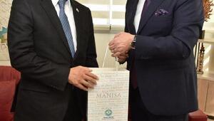 Japonya İstanbul Başkonsolosundan Başkan Ergüne ziyaret
