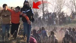 Yunanistan tarafından düzensiz göçmenlerin üzerine ateş açıldı