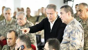 Akar'dan Bahar Kalkanı bilançosu: '2557 rejim unsuru etkisiz hale getirildi'