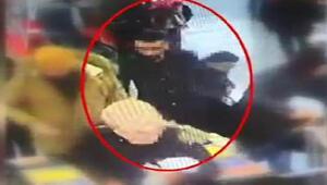 Beşiktaş vapur iskelesindeki yankesici yakalandı, hırsızlık anları kamerada
