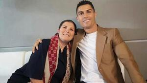 Cristiano Ronaldonun annesi Dolores Aveiro felç geçirdi
