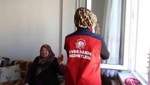 Aksaray Belediyesinden evde bakım hizmeti