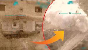 Son dakika haberler... Milli Savunma Bakanlığı, Bahar Kalkanı Harekatından yeni görüntüler yayınladı