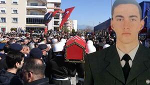Şehit Uzman Onbaşı Muhammed Mustafa Ak son yolculuğuna uğurlandı