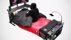Oyuncu kulaklığı, oyuncu faresi derken şimdi de oyuncular için yatak yaptılar