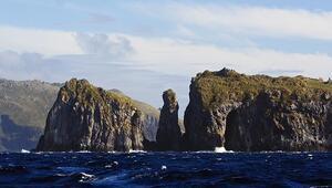 Dünyanın en yalnız adası Tristan-Cunha