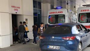 Tekirdağda 30 öğrenci gıda zehirlenmesi şüphesiyle hastaneye kaldırıldı