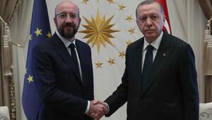 Son dakika: Cumhurbaşkanı Erdoğan, Avrupa Birliği Konseyi Başkanını kabul etti