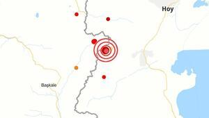 Son dakika haberler... Türkiye-İran sınırında korkutan deprem