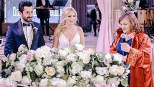Oyuncu Emrah Akduman ile Gökçe Mavuş evlendi